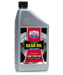 75-140 Synthetic V-Twin Gear Oil